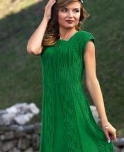 Kleid im Fantasiemuster