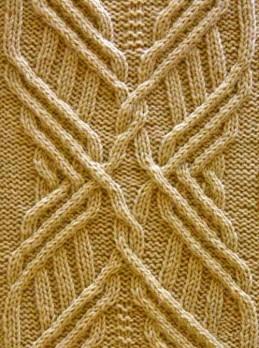 Aran-Muster stricken