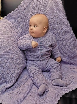Strickset baby