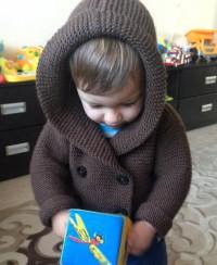 Kapuzenjacke für Baby