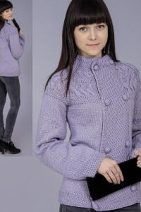 Zweireiher Jacke mit Raglanärmeln