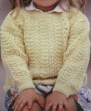 Rollkragen Pullover mit Blattmuster