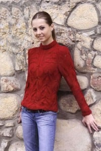 Pullover mit Reliefmuster