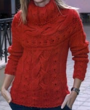 Pullover mit Rundpasse