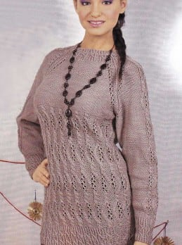 Pullover mit Fantasiemuster