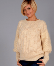 Pullover mit Sternmuster
